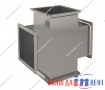 Крестовина прямоугольная для воздуховода из оцинкованной и нержавеющей стали