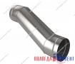 Утка круглая для воздуховода из оцинкованной и нержавеющей стали