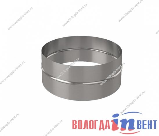 Нипель круглый для соединения воздуховода из оцинкованной и нержавеющей стали
